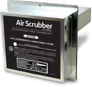 Air Scrubber Air Duct Dust Removal