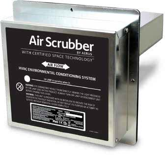 Air Scrubber Dust Removal