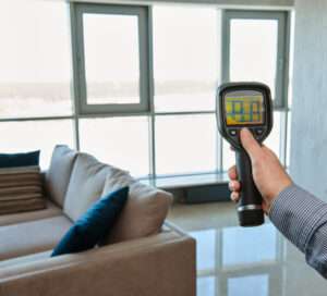 Home energy assessment in Coral Springs using thermal technology